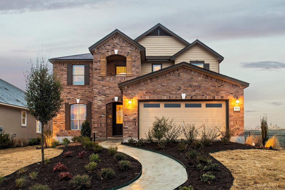 New Homes in Georgetown, TX - Creekside at Georgetown Village Plan A-2797