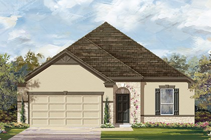 New Homes in Round Rock, TX - Plan A-1675-D