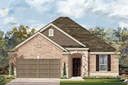 New Homes in Round Rock, TX - Plan A-1792 MODELED