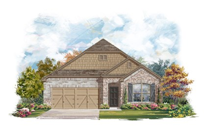 New Homes in Round Rock, TX - Plan A-1852-C