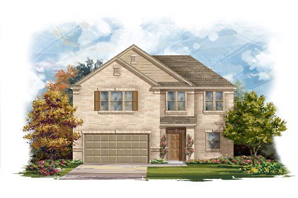 New Homes in Round Rock, TX - Plan A-2183-A