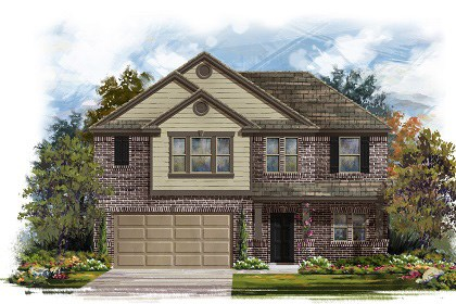 New Homes in Round Rock, TX - Plan A-2183-B
