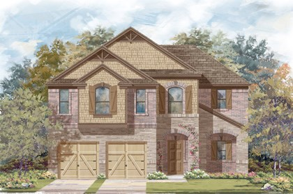 New Homes in Round Rock, TX - Plan A-2183-C