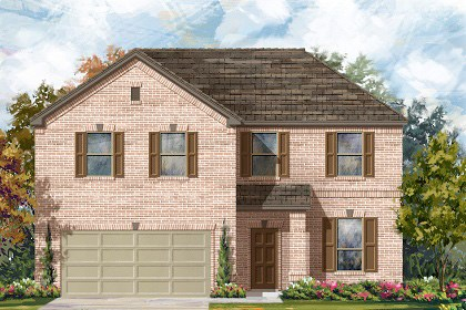 New Homes in Round Rock, TX - Plan A-2469 A
