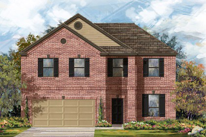 New Homes in Round Rock, TX - Plan A-2469 B