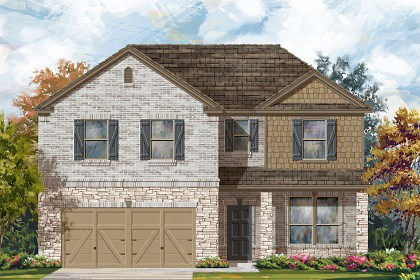 New Homes in Round Rock, TX - Plan A-2469 C
