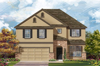 New Homes in Round Rock, TX - Plan A-2469 D