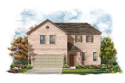 New Homes in Round Rock, TX - Plan A-2502-A