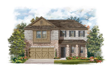 New Homes in Round Rock, TX - Plan A-2502-C