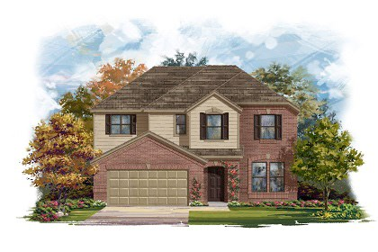 New Homes in Round Rock, TX - Plan A-2797-A