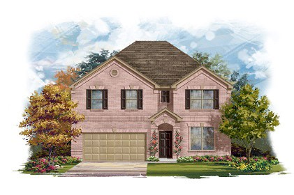 New Homes in Round Rock, TX - Plan A-3125-A