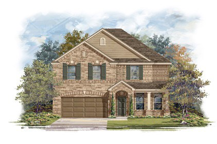 New Homes in Round Rock, TX - Plan A-3125-B