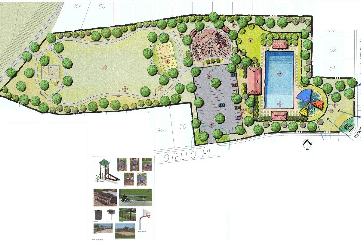 New Homes in Round Rock, TX - Siena in Round Rock Planned amenity center