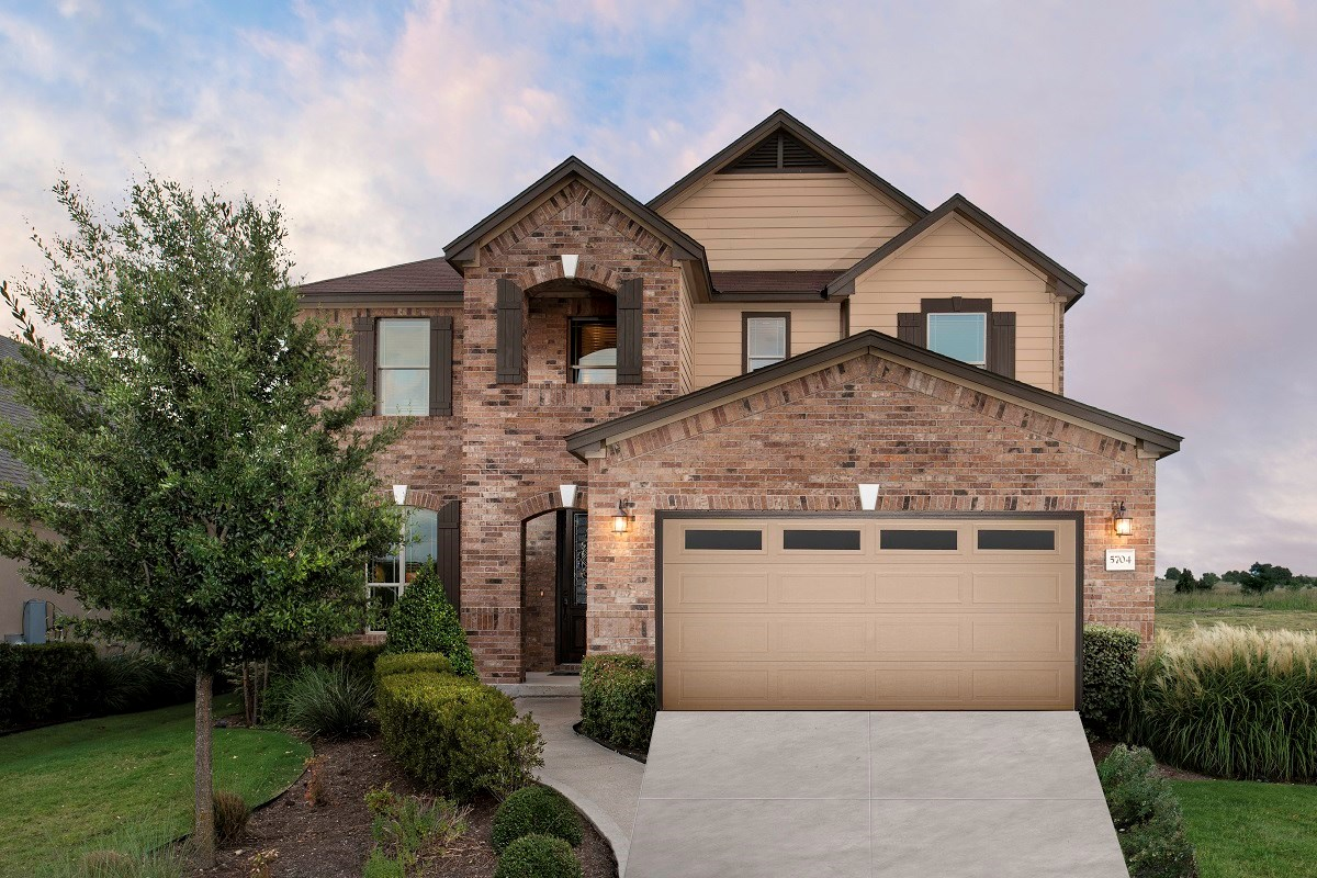 New Homes in Round Rock, TX - Siena Plan A-2797