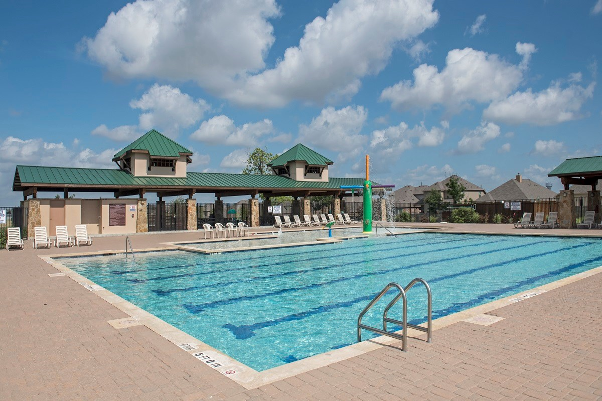 New Homes in Round Rock, TX - Siena Community Pool