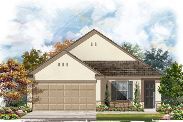 New Homes in Jarrell, TX - Plan E-1246 K