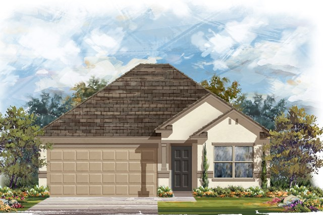 New Homes in Jarrell, TX - Plan E-1591 K
