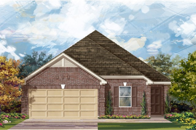 New Homes in Jarrell, TX - Plan E-1892 H