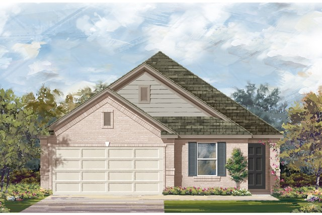 New Homes in Jarrell, TX - Plan E-1892 I