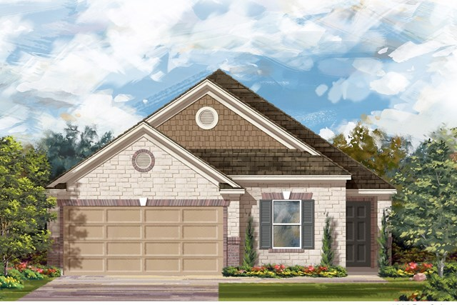 New Homes in Jarrell, TX - Plan E-1892 J