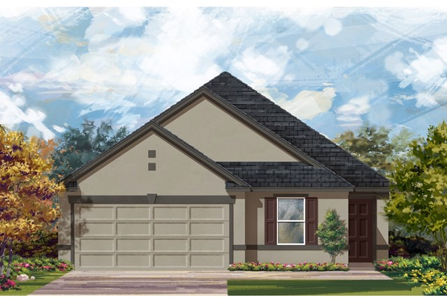 New Homes in Jarrell, TX - Plan E-1892 K