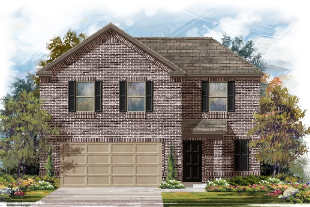 New Homes in Jarrell, TX - Plan E-1895 H