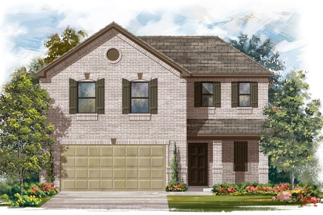 New Homes in Jarrell, TX - Plan E-1895 I