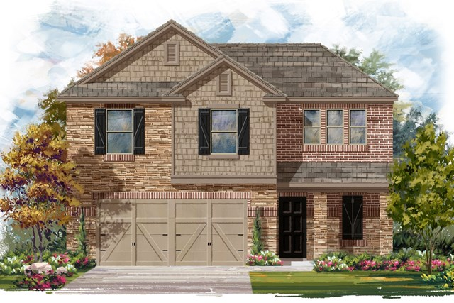 New Homes in Jarrell, TX - Plan E-1895 J