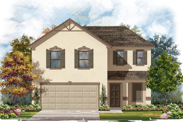 New Homes in Jarrell, TX - Plan E-1895 K