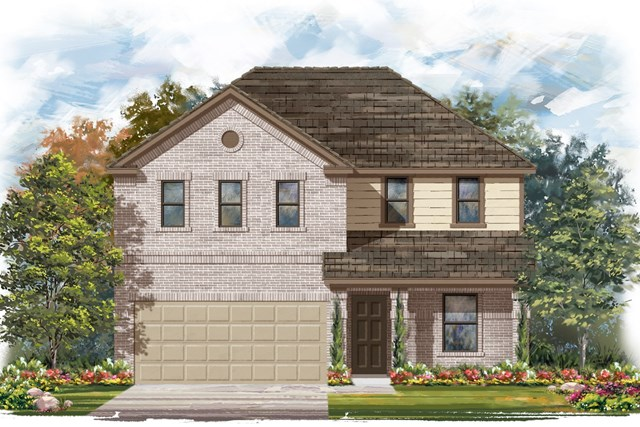 New Homes in Jarrell, TX - Plan E-2403 I