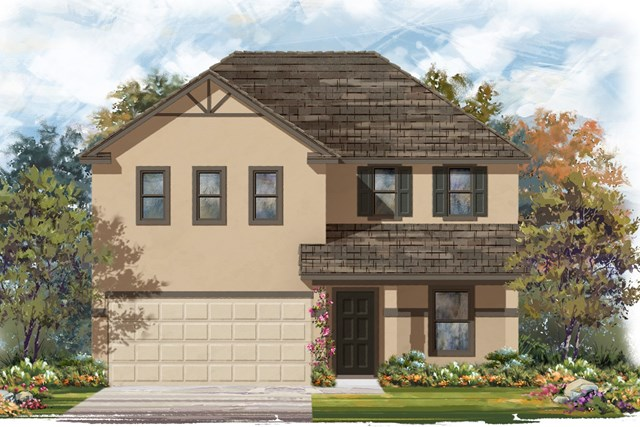 New Homes in Jarrell, TX - Plan E-2403 K