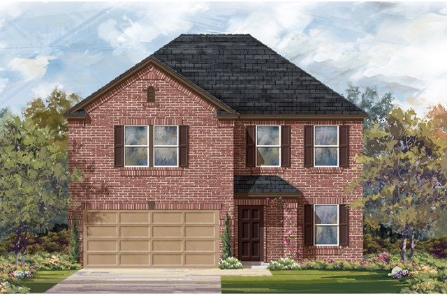 New Homes in Jarrell, TX - Plan E-2898 H