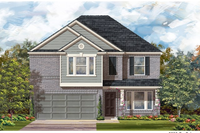 New Homes in Jarrell, TX - Plan E-2898 I