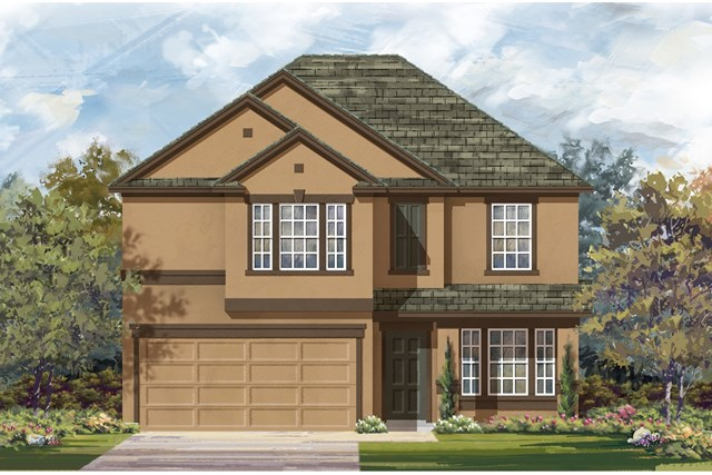 New Homes in Jarrell, TX - Plan E-2898 K