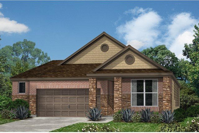 New Homes in Kyle, TX - Plan E-1647 J