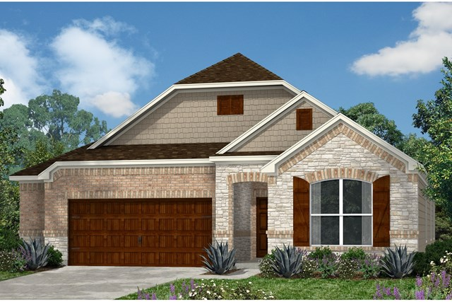 New Homes in Kyle, TX - Plan A-1852 C