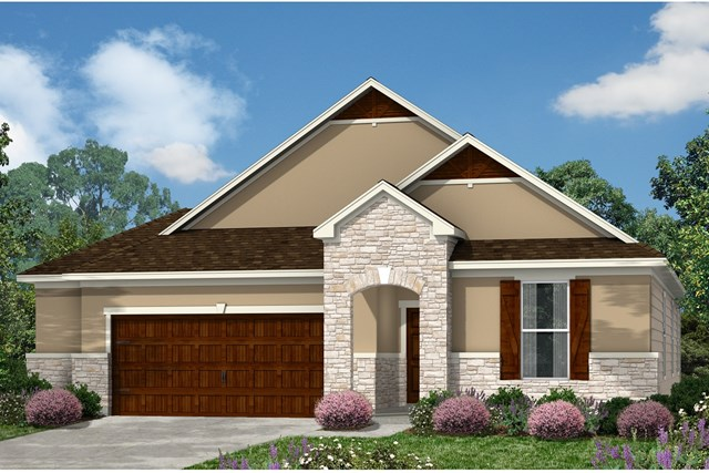 New Homes in Kyle, TX - Plan A-1852 D