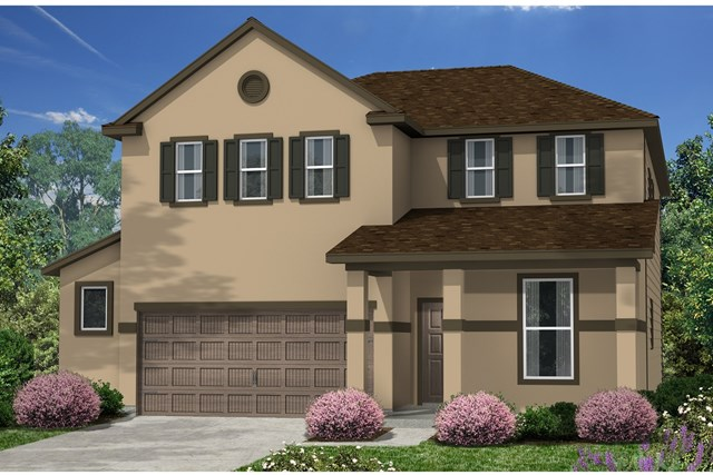 New Homes in Kyle, TX - Plan E-2403 K