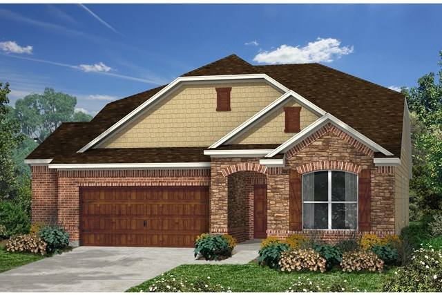 New Homes in Kyle, TX - Plan A-2655 C