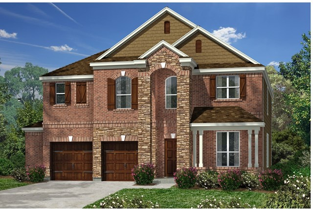 New Homes in Kyle, TX - Plan A-2755 C