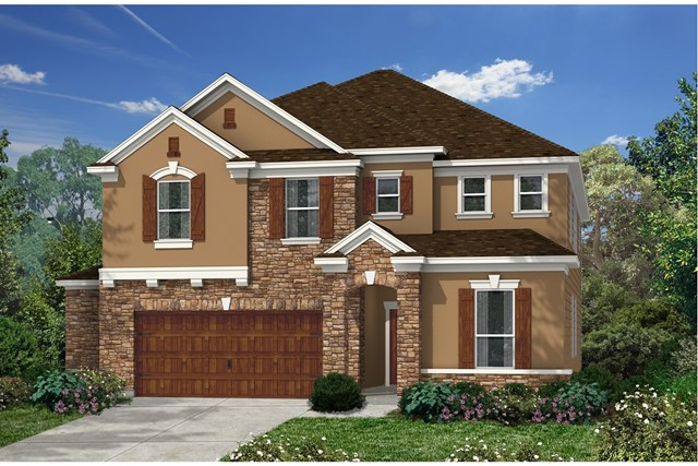 New Homes in Kyle, TX - Plan A-3475 D