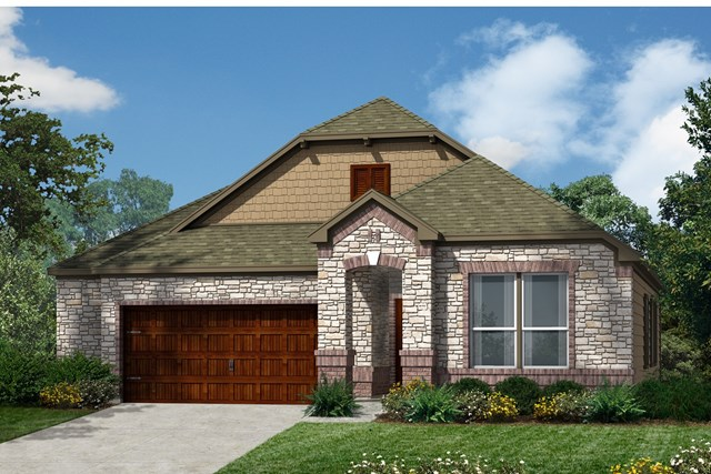 New Homes in Kyle, TX - Plan A-1491 C