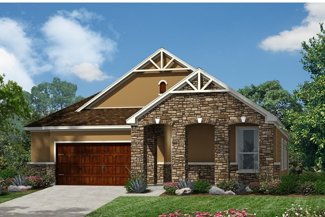 New Homes in Kyle, TX - Plan A-1491 D