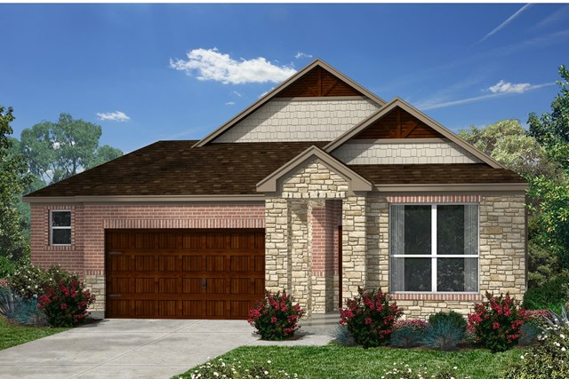 New Homes in Kyle, TX - Plan E-1591 J
