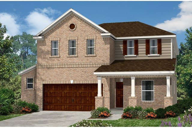 New Homes in Kyle, TX - Plan E-2403 I