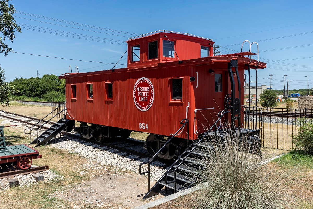 New Homes in Kyle, TX - Stagecoach Crossing Historic Kyle Train Depot