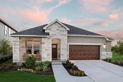 New Homes in Kyle, TX - Plan A-2089 Modeled