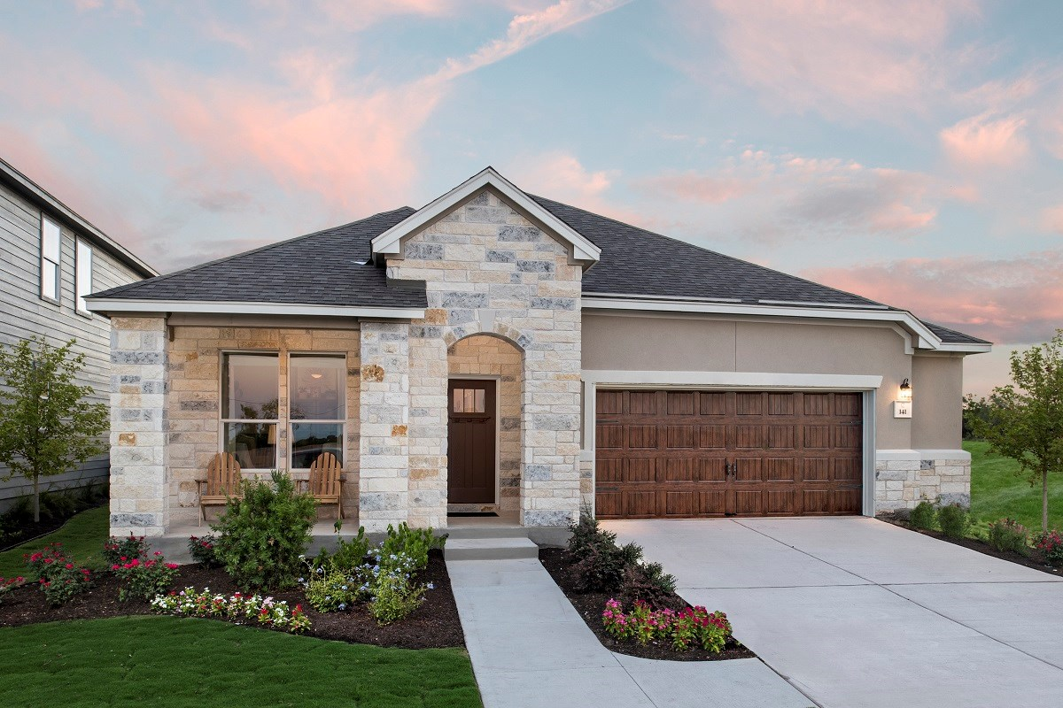 New Homes in Kyle, TX - Stagecoach Crossing Plan A-2089