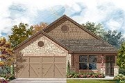 New Homes in Del Valle, TX - Plan E-1516