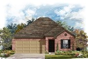 New Homes in Del Valle, TX - Plan E-1591